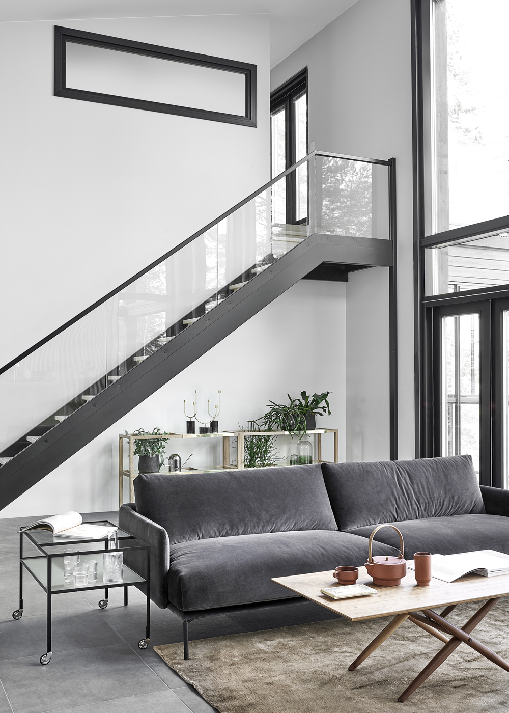 New home with a warm interior coco lapine designcoco - New home interior design ...