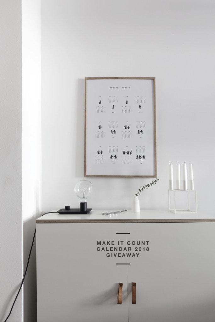 &39;Make it Count&39; Calendar 2018 Giveaway   COCO LAPINE DESIGNCOCO LAPINE DESIGN