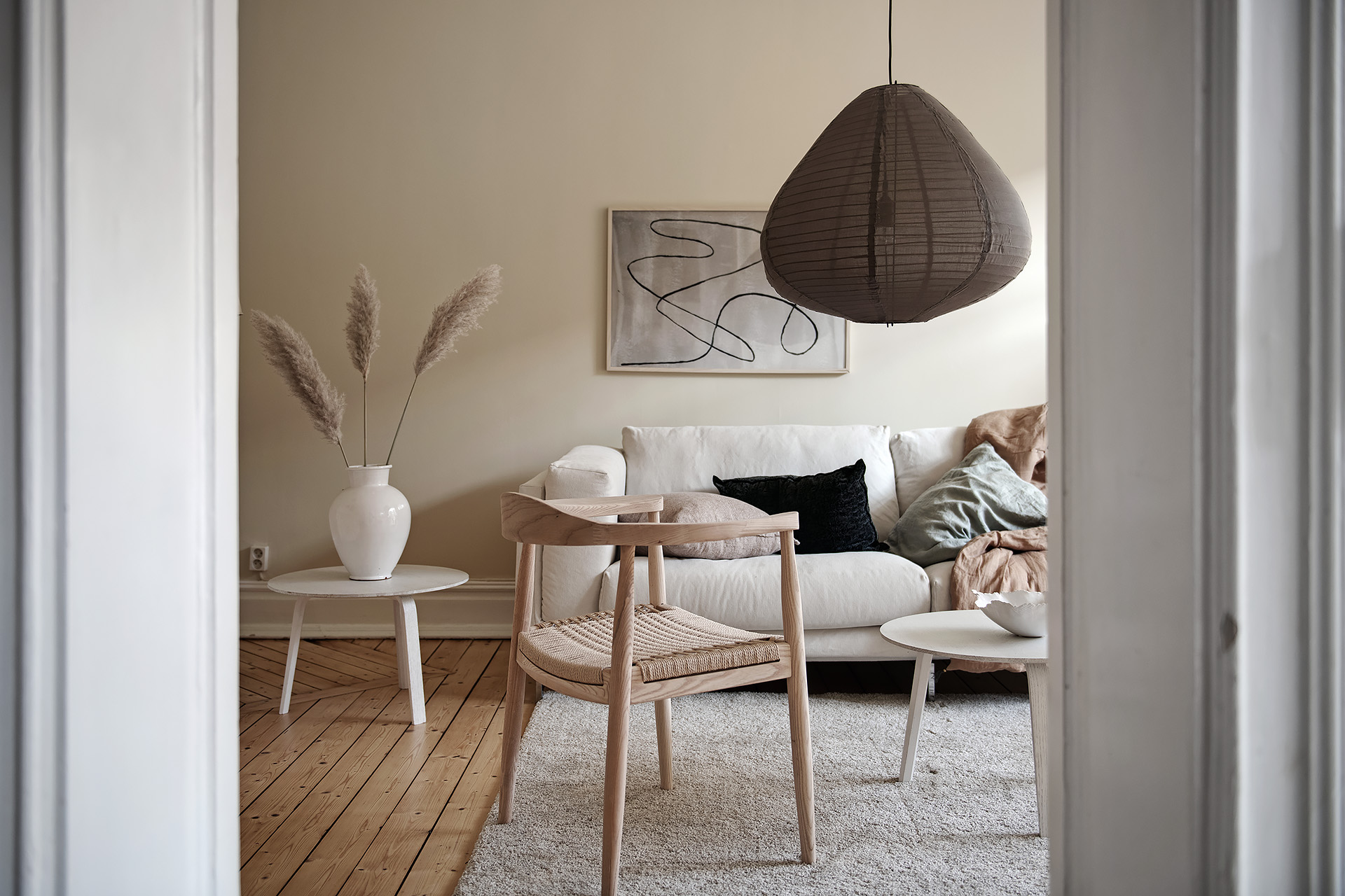 Living Room In A Light Beige Palette Coco Lapine Designcoco