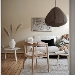 Beige Color Palette Living Room Modern Furniture Ireland In A Light Coco Lapine Designcoco The Of This Works So Great Flooded Space Walls Are Painted Very Warm