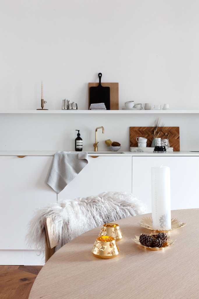 Subtile hints of Christmas with Georg Jensen