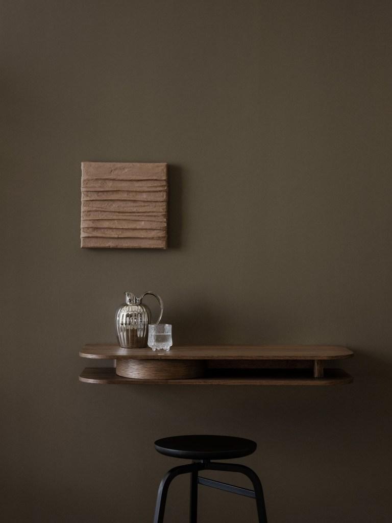 Valet wall console by Sami Kallio