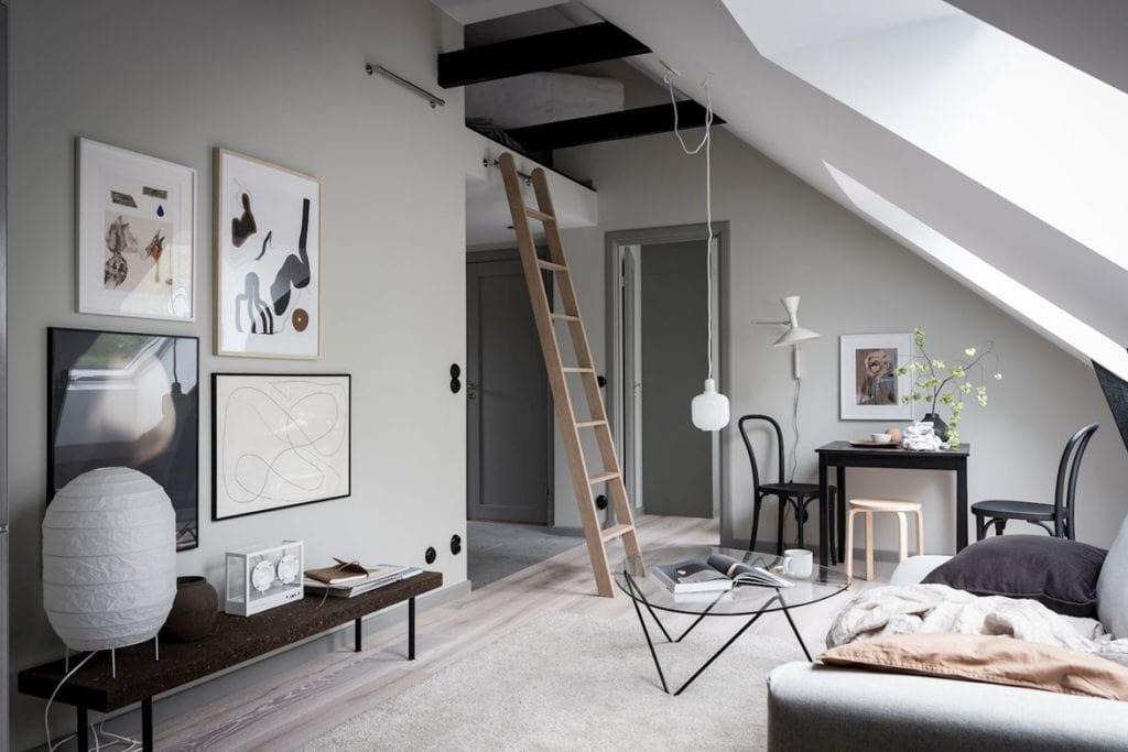 Beautifully Decorated Attic Home Coco Lapine Designcoco Design