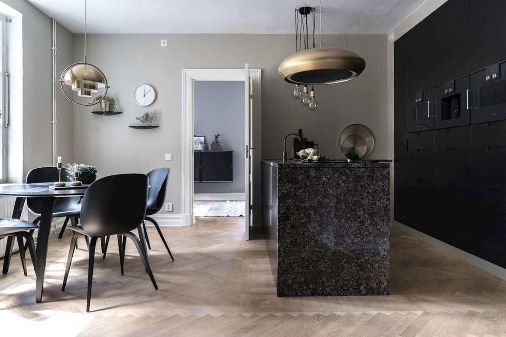 Classy Kitchen In Black Coco Lapine Designcoco Lapine Design