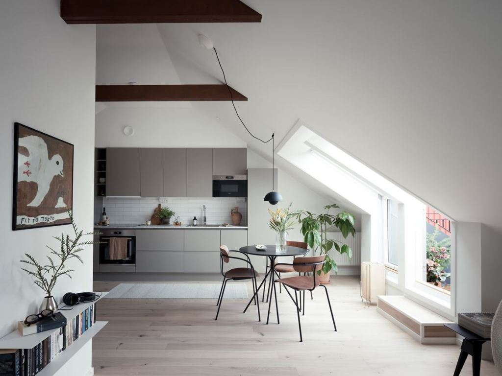 Cozy and stylish attic home