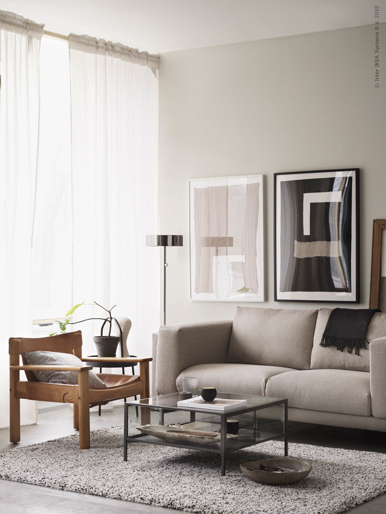 Vintage Ikea Pieces In A Modern Setting