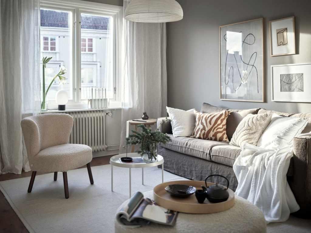 Studio home in warm grey