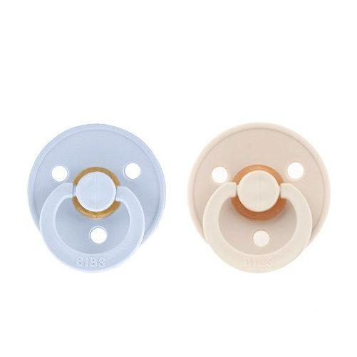 Coral /& Ruby Chupete // Pack de 2 // 100 /% libre de BPA // original dan/és con forma de cerezo probado seg/ún EN1400 // talla /única BIBS DE LUX 0-36 meses