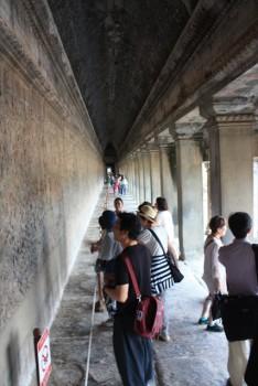 ■アンコールワット遺跡  第一回廊のレリーフ