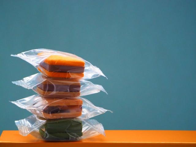 個包装のお菓子