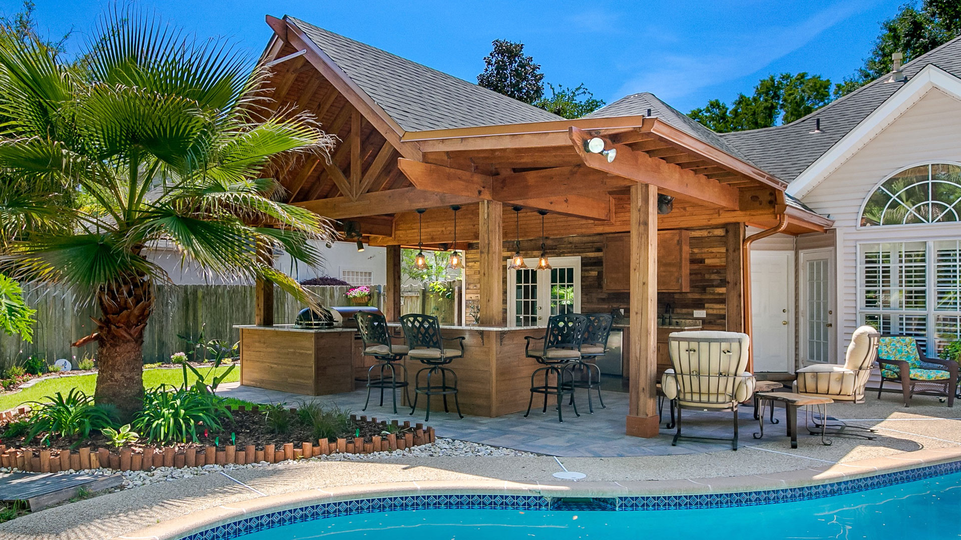 outdoor kitchen island stove new orleans kitchens contractor custom concepts decks other specialties