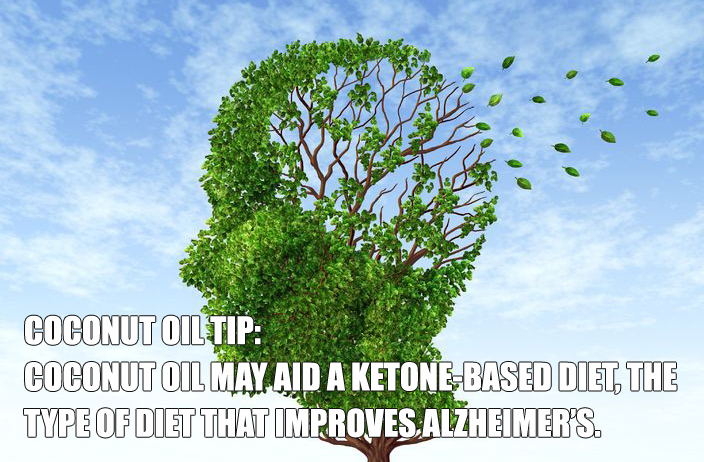 Coconut Oil for Alzheimer's Disease Treatment
