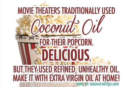 Coconut Oil Popcorn Recipe — The Healthy Way!
