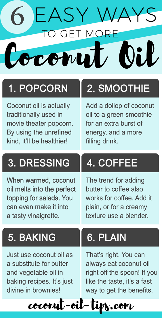 How to Eat More Coconut Oil and Ways to Get More Coconut Oil in