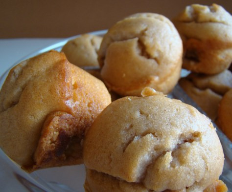 7. Eggnog Muffins: eggnog + self-rising flour. Mix together and bake for about 13 minutes at 350 degrees.