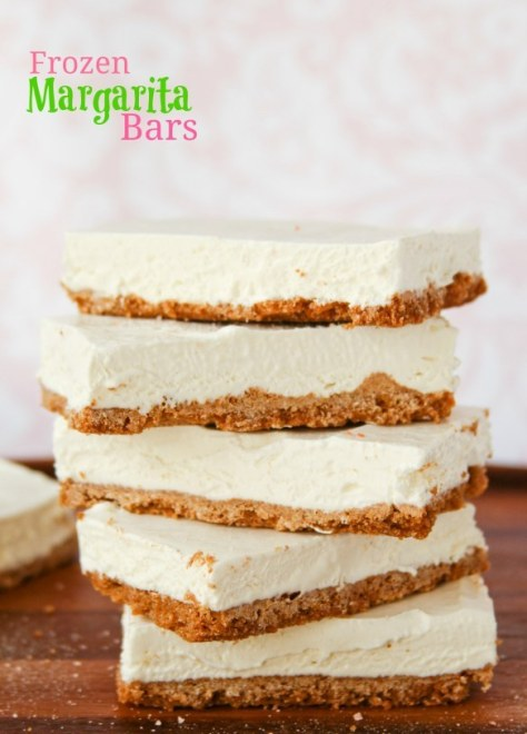 Frozen Margarita Pie Bars