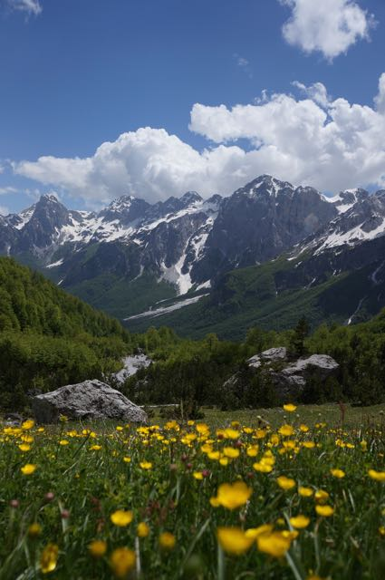 Picture: Albanian Alps