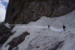 Hiking the Albanian Alps.