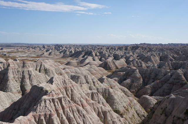 Badlands National Park, South Dakota, USA. Photo: Eeva Routio.