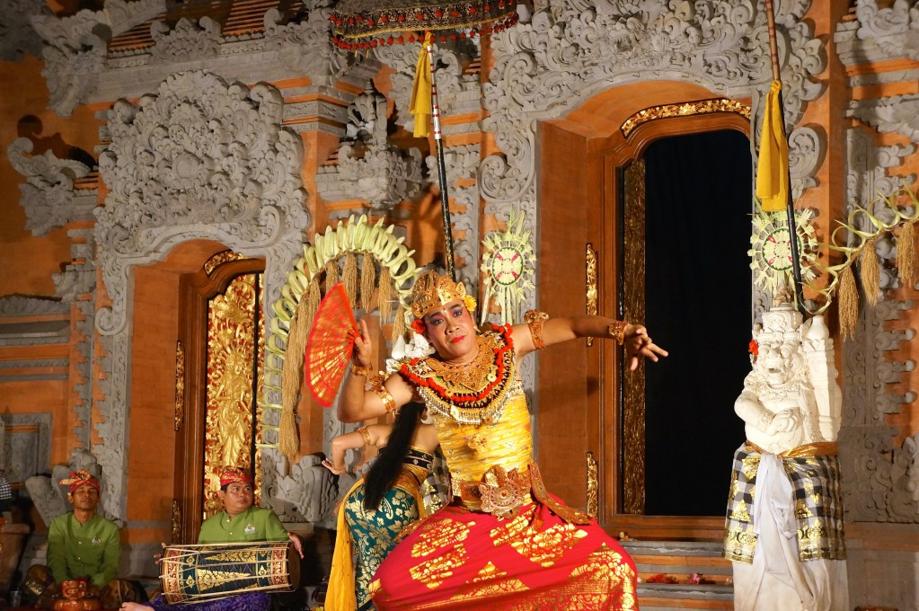 Traditional Balinese dance, Ubud Bali, Indonesia. Photo: Eeva Routio.