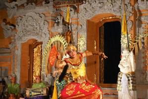 Traditional Balinese dance, Ubud Bali, Indonesia. Photo: Eeva Routio.