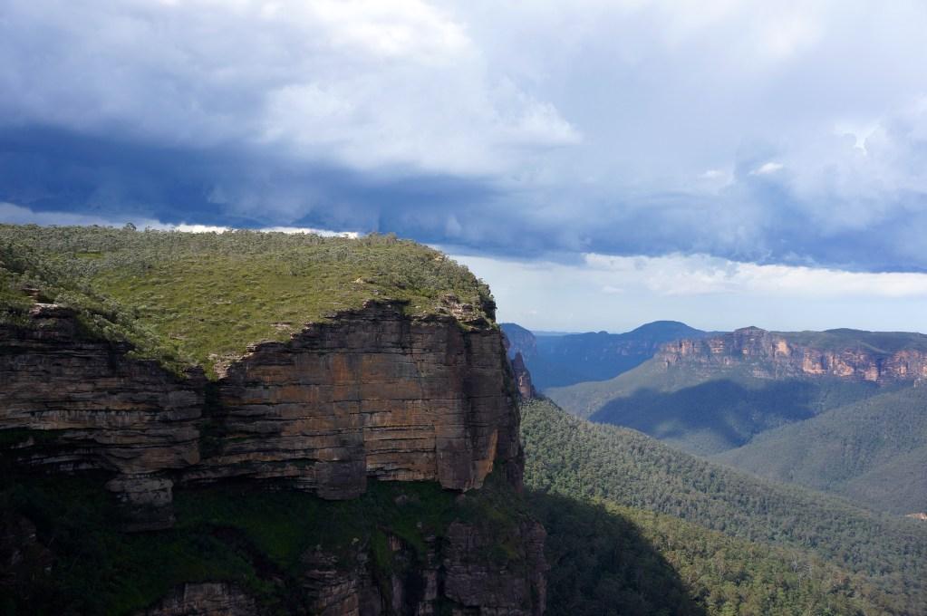 Govetts Leap Lookout, Blackheath, Blue Mountains, NSW, Australia. Photo: Eeva Routio.