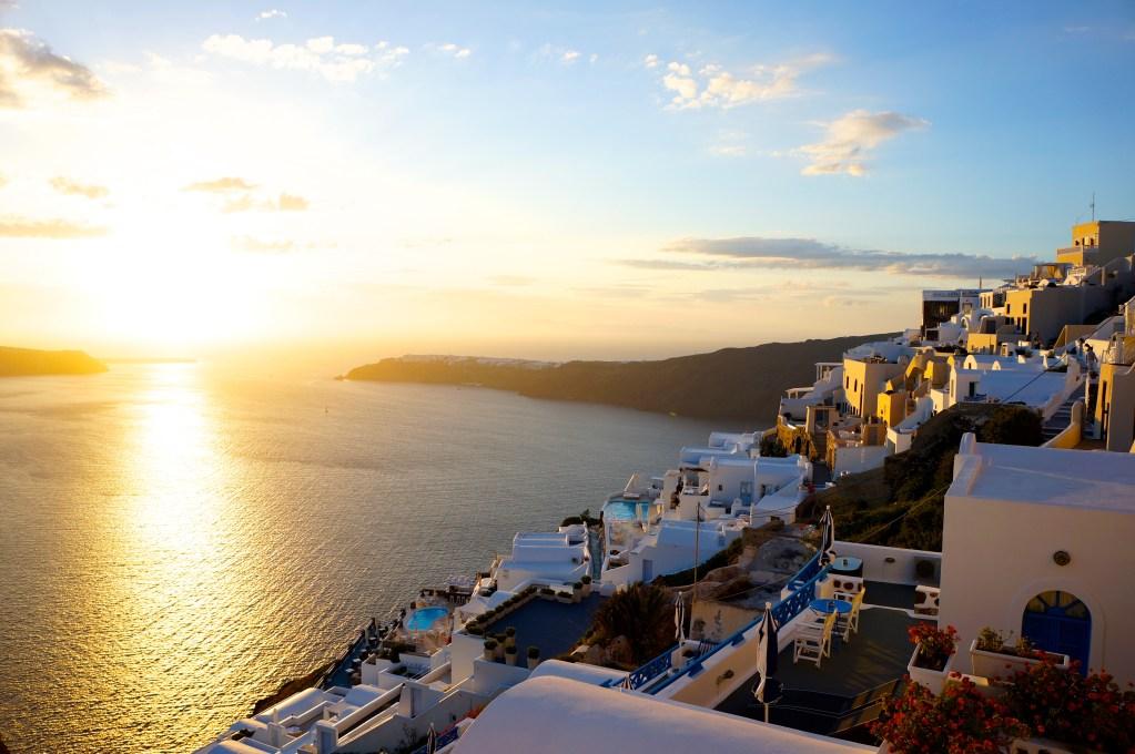 Santorini, Greece. Photo: Eeva Routio.