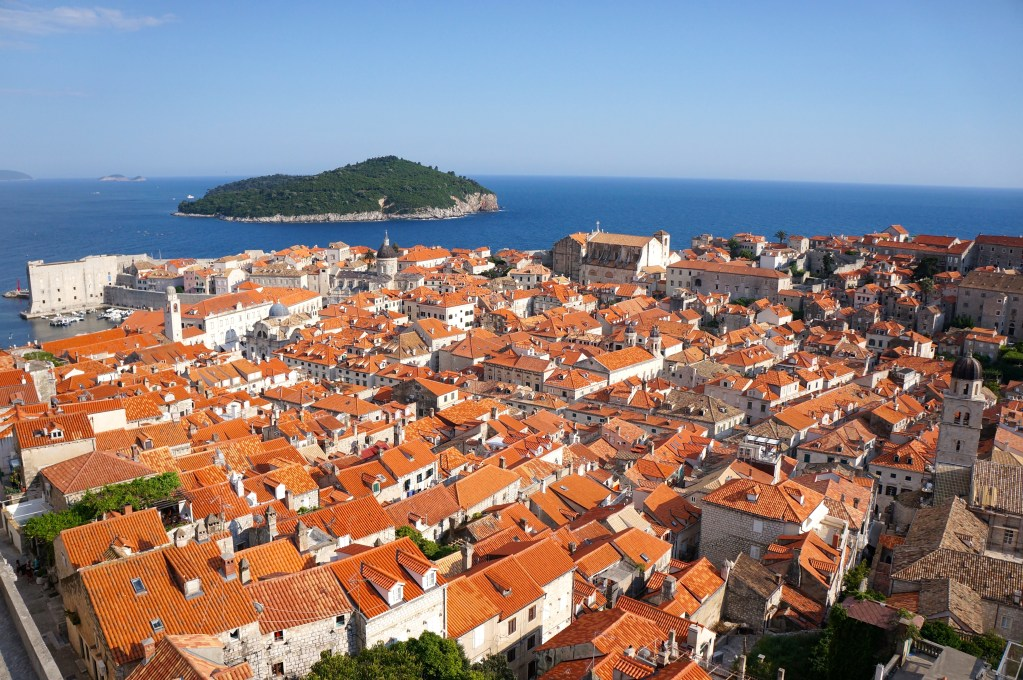 Old Town Dubrovnik, Croatia.