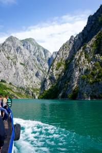 Albanian Alps, Lake Koman. Photo: Eeva Routio