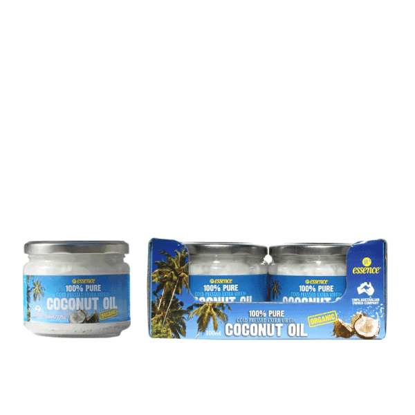 organic cold pressed coconut oil extra virgin