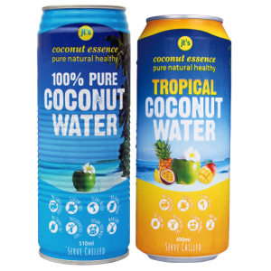 straight up coconut water