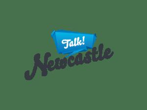 Talk Newcastle Logo Design