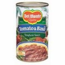 Del Monte Tomato and Basil Spag. Sauce