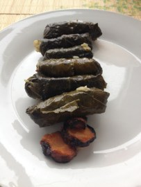 ~ Sisters delicious grape leaves... obsessed ~