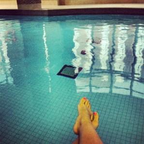 ~ A long overdue swim. ~
