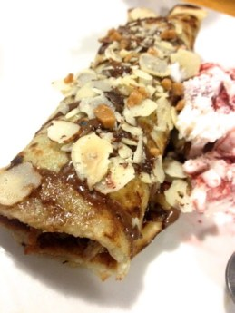 ~ The most amazing Nutella crepe that my sister made. ~
