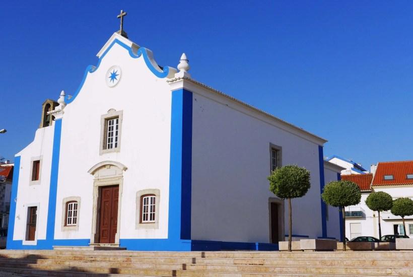 Sao Pedro church Ericeira Portugal