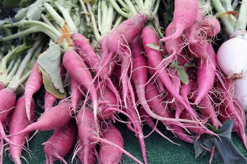alkaline diet purple carrots