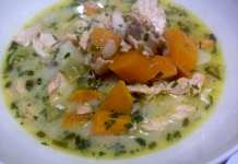 coconut oil post Salmon Chowder B
