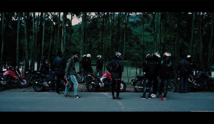 bike riders meetup in