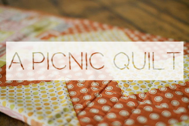 Picnic Quilt words