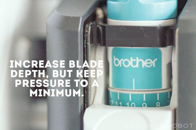 blade-depth