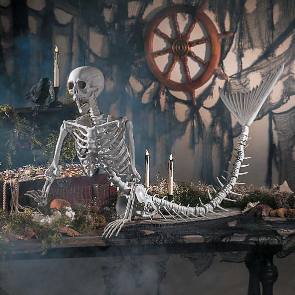 Halloween decoratie aankleding Friesland Leeuwarden