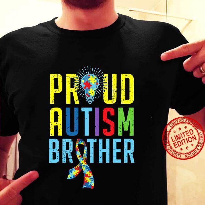Proud Autism Brother Shirt