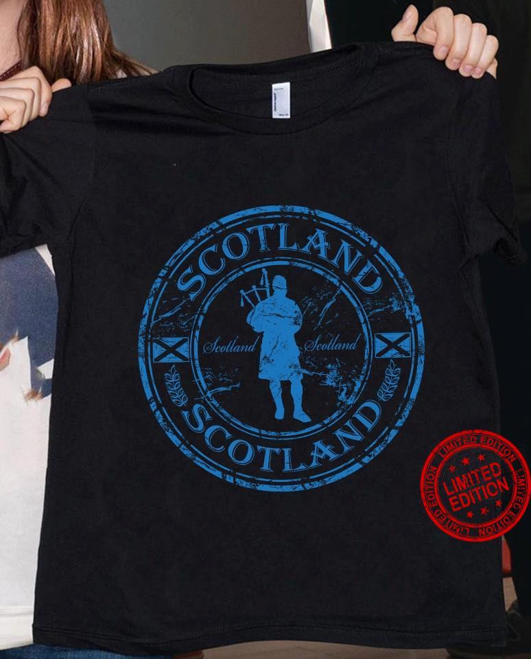Scotland Man Shirt