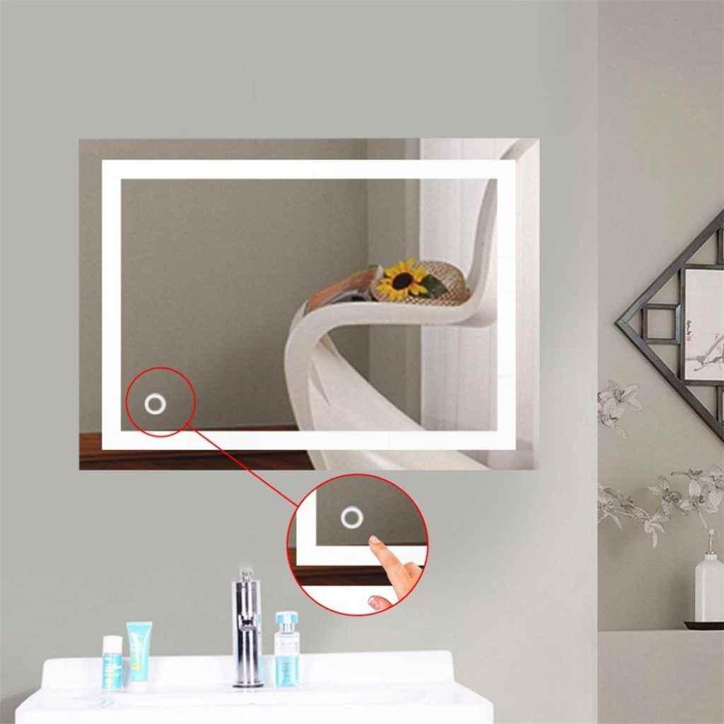 Espejos De Bao Con Luz Incorporada No Provoca Sombras Sobre El Rostro Reflejado Ni Produce Molestos Espejo De Aumento Con Luz Incorporada En