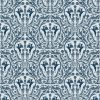 Curtain Fabric Upholstery Fabric Blue curtain fabric Cocoon Home King Peryton