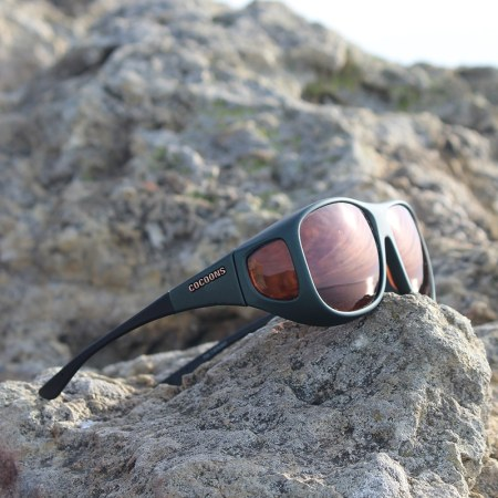 Fitover sunglasses with driving lenses