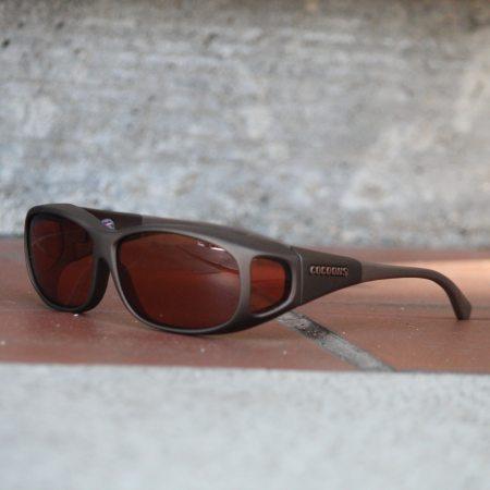 Salt water fishing fitover sunglasses