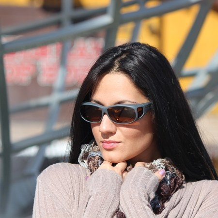 Driving fitover sunglasses